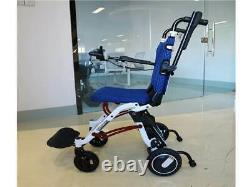 18kg Ultra Light Weight Electric Wheelchair Folding Portable Small Intelligent