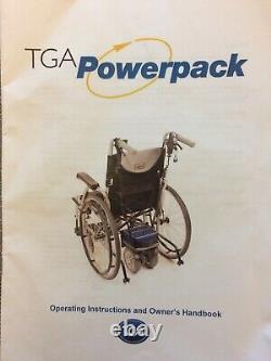 20 Lightweight Folding Electric Red Wheelchair