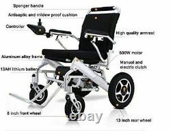 2020 Electric Motorized Power Wheelchair Folding Lightweight With Remote control