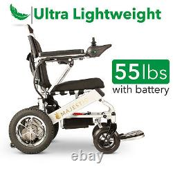 2020 Remote Control Ultra Lightweight Foldable Travel Ready Premium Wheelchair