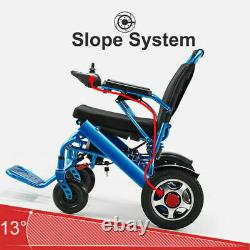 2021 Electric Motorized Power Wheelchair Folding Lightweight Remote control New