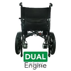 2021 FOLD &TRAVEL New Lightweight Folding Power Electric Mobility Wheelchair