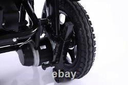 2021 Transport Friendly 19 Wide Seat Foldable Lightweight Power Wheelchairs