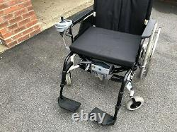 AAT Solo+ Folding Lightweight 22 Wide Powered Wheelchair for User up to 250Kg