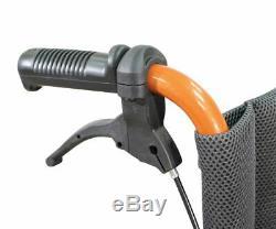 Aidapt Deluxe Lightweight Folding Self Propelled Aluminium Wheelchair Orange