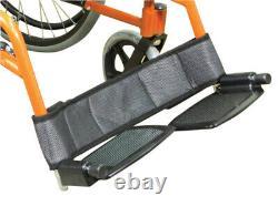 Aidapt Lightweight Self Propelled Aluminium Wheelchair Orange VA165ORANGE