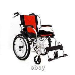 Aluminium Travel Wheelchair Lightweight Fully Folding Self Propelled UK