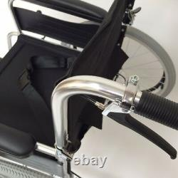 Aluminium Wheelchair Lightweight, Self Propelled & Folding