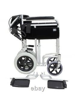 Angel Mobility Lightweight Folding Transit Aluminium Wheelchair Portable