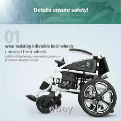 Best Value Lightweight Electric Power Wheelchair Medical Mobility Aid Powerchair