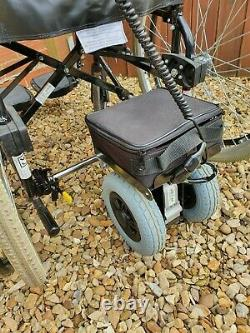 Clip & Go Powerstroll Pack With Self Propelled Folding Lightweight Wheelchair