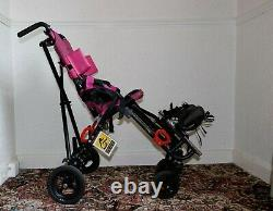 Convaid cruiser special needs wheelchair, pink, light weight, foldable