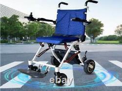 Cute Electric Wheelchair Lightweight 18kg High Power 500W Portable Folding