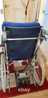 DRIVE ENIGMA Lightweight Self-Propelled Wheelchair with TGA Solo Power Pack CS T18