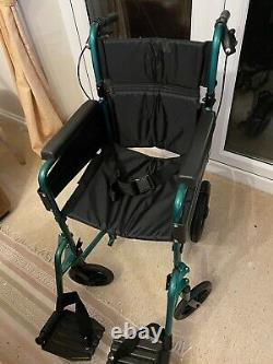 Days Escape Lite Lightweight Folding Self-Propelled Wheelchair -120kg Capacity