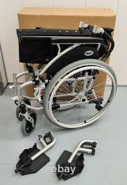 Days Link Self Propelled Crash Tested Wheelchair Lightweight(19 inch) New