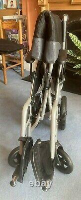 DeVilbiss Lightweight Folding Wheelchair Model Phantom