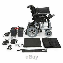 Drive Cirrus Foldable Lightweight Powerchair Electric Wheelchair Shoprider 4mph