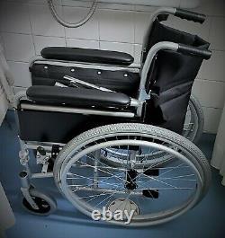 Drive DeVilbiss Lightweight Aluminium Self Propel Wheelchair, 18 Inch Seat