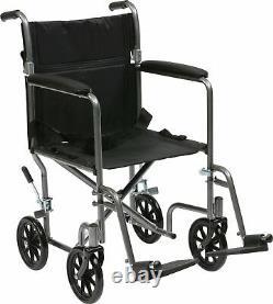 Drive DeVilbiss Lightweight Steel Travel Wheelchair