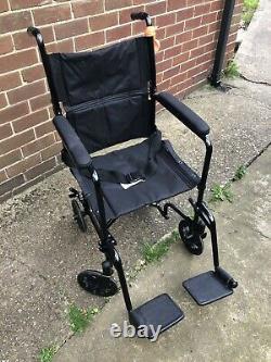 Drive Lightweight Aluminium Foldable Travel Wheelchair