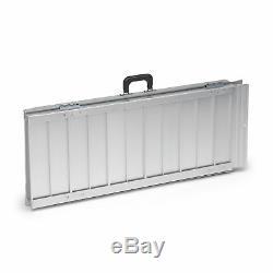 Drive Lightweight Aluminium Portable Folding Suitcase Ramp Wheelchair Access Aid
