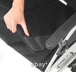 Drive Phantom Transit Lightweight Wheelchair Padded Upholstery Attendant Brakes