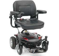 Drive Titan LTE Portable Lightweight Powerchair Electric Travel Wheelchair Red