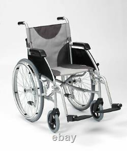 Drive Ultra Lightweight 17 Seat Folding Travel Transit Wheelchair Mobility Aid