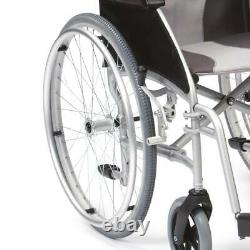 Drive Ultra Lightweight 20'' Seat Folding Travel Manual Wheelchair Mobility Aid