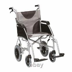 Drive Ultra Lightweight 20 Seat Folding Travel Transit Wheelchair Mobility Aid