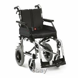 Drive XS2 Aluminium Transit Wheelchair Travel Mobility Aid Folding Lightweight