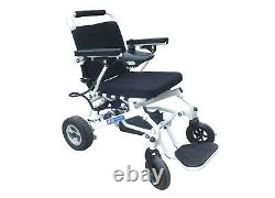 Easy Fold Lightweight Portable Travel Electric Wheelchair Powerchair fit-in-boot