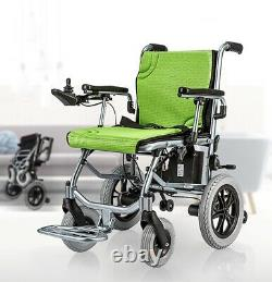 Electric Folding Lightweight Power Wheelchair Medical Mobility Aid Motorized UK