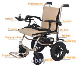 Electric Lightweight Folding Motorized Power Wheelchair Mobility Aid3