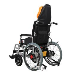 Electric Power Folding Wheelchair Lightweight Medical Mobility Aid Motorized 4