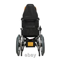 Electric Power Folding Wheelchair Lightweight Medical Mobility Aid Motorized A