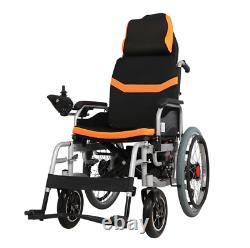 Electric Power Folding Wheelchair Lightweight Mobility Aid Motorized 1