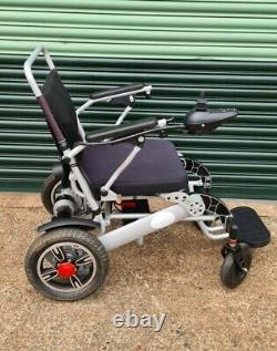 Electric Self Folding Wheelchair Lithium Lightweight Remote Control Can Del