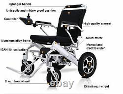 Electric Wheelchair Folding Lightweight Heavy Duty Power wheelchair power chair