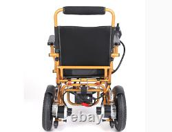 Electric Wheelchair Folding Lightweight Old Elderly Disabled With Damping System 5