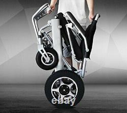 Electric Wheelchair Motorized Automated Foldable Lightweight Mobility Wheelchair