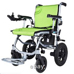 Electric Wheelchair Power Wheel Chair 31LB Lightweight MobilityFoldable Folding5