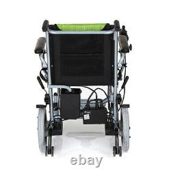 Electric Wheelchair Power Wheel Chair Lightweight Mobility Aid Folding UK STOCK
