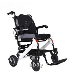 Electric Wheelchair Power Wheel Chair Lightweight Mobility Foldable Folding