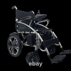 Electric Wheelchair Power Wheel chair Upgraded Lightweight Foldable