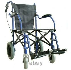 EliteCare ECTR04HD Heavy Duty Lightweight Folding Travel Wheelchair in a Bag