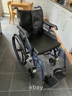 Enigma Full Suspension Self Propelled Lightweight Aluminium Wheelchair RRP £529