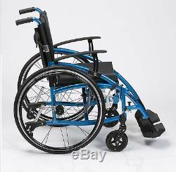 Enigma Spirit Deluxe Lightweight Aluminium Folding Self Propel Wheelchair