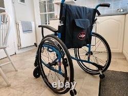 Enigma Spirit Lightweight Aluminium Folding Self Propelled Wheelchair